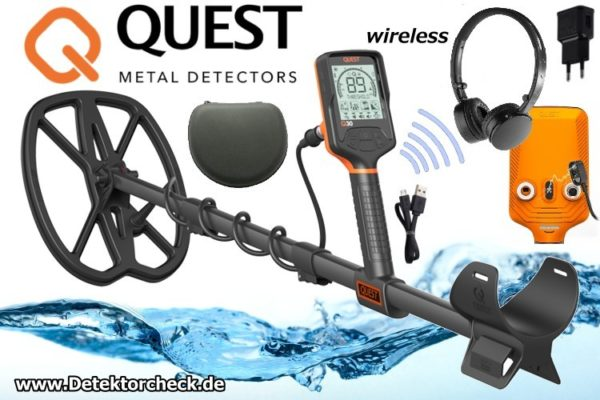 Metalldetektor Quest Q30