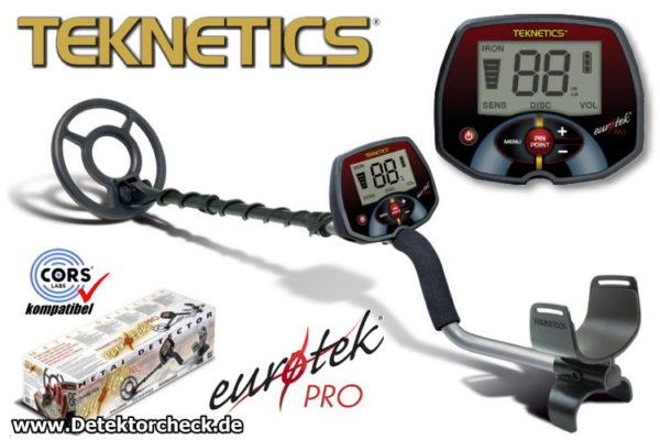 Teknetics Eurotek PRO Metalldetektor_